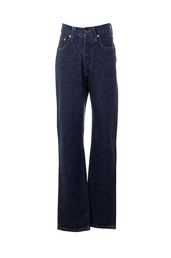 cedixsept jeans femme de couleur bleu