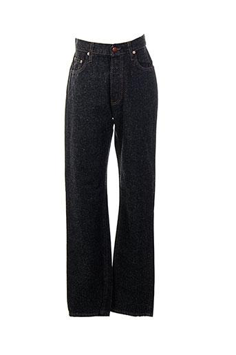 cedixsept jeans femme de couleur noir
