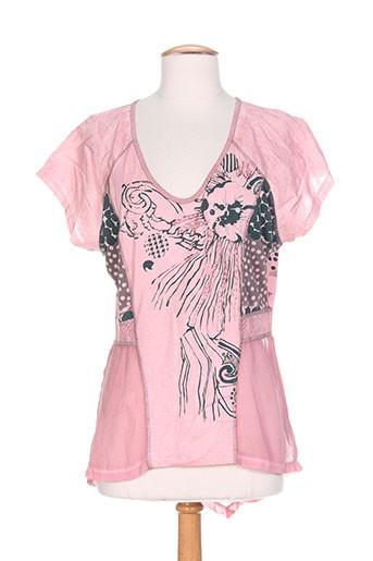 angels never die chemises femme de couleur rose