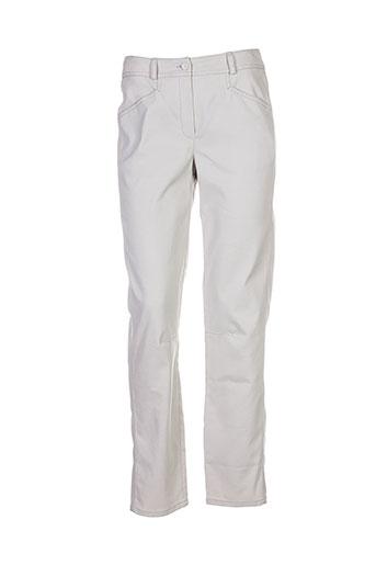 annette et gortz pantalons et decontractes femme de couleur gris