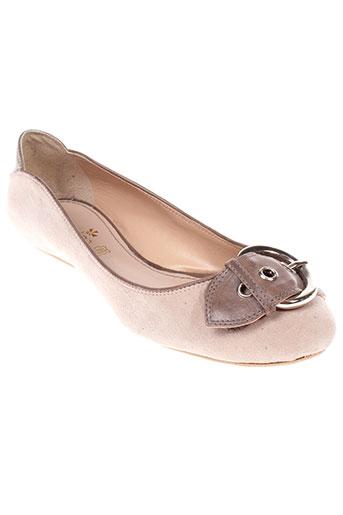 claudina chaussures femme de couleur beige
