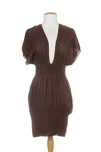 an' ge robes femme de couleur marron