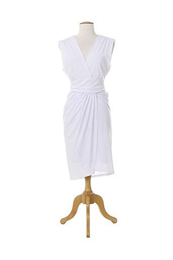 maille demoiselle robes femme de couleur blanc