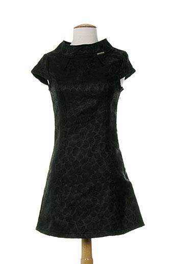 amarillolimon robes et mi et longues femme de couleur noir