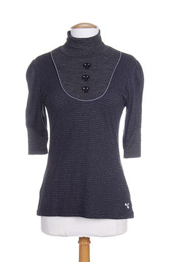 amarillolimon t-shirts femme de couleur gris