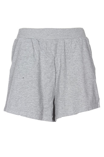 cheap monday shorts / bermudas femme de couleur gris