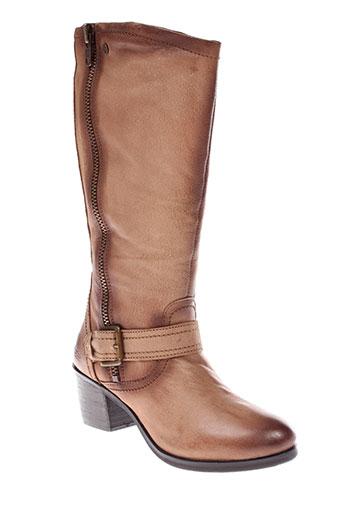 stressless bottes femme de couleur marron