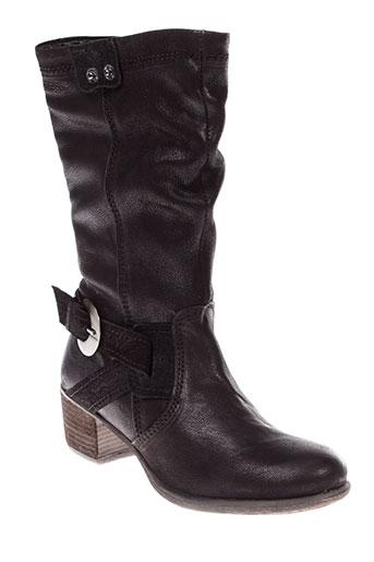 stressless bottes femme de couleur noir