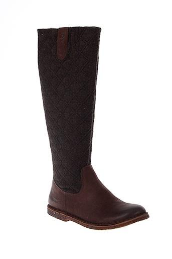 kickers bottes femme de couleur marron
