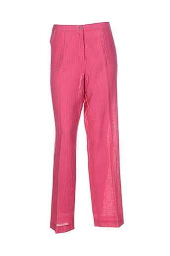 atian pantalons et decontractes femme de couleur rose
