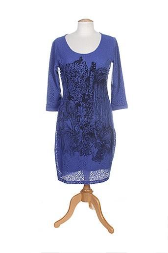 angel never die robes femme de couleur bleu