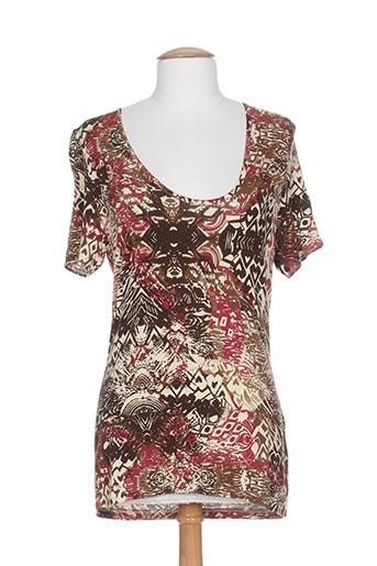 carlopik chemises femme de couleur marron