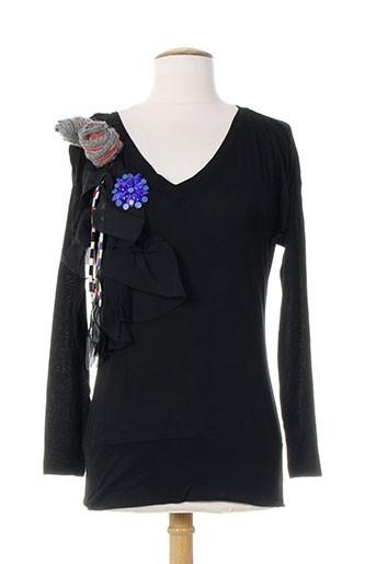 missoni chemises femme de couleur noir