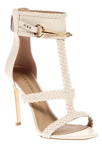 cecconello sandales et nu et pieds femme de couleur beige