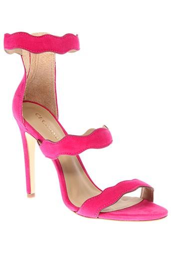 cecconello sandales et nu et pieds femme de couleur rose