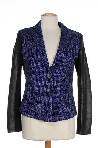 luisa cerano vestes femme de couleur violet