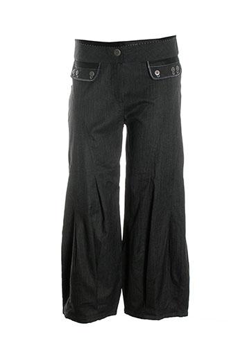 miss sidecar pantalons femme de couleur gris