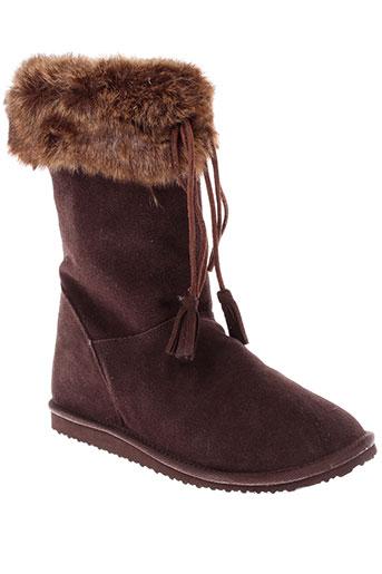 superga chaussures femme de couleur marron