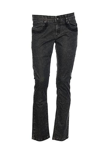 et compagnie jeans femme de couleur gris