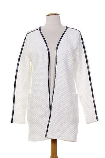 anna scott vestes femme de couleur blanc
