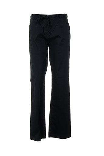 frank walder pantalons femme de couleur bleu