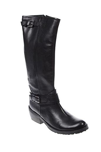 paradoxale bottes femme de couleur noir