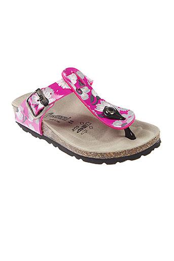 goldstar sandales et nu et pieds fille de couleur rose