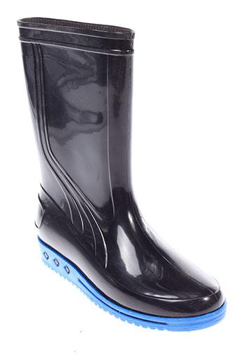sarraizienne bottes enfant de couleur noir