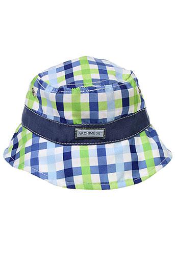 archimede chapeaux et bonnets enfant de couleur bleu