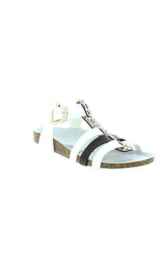 goldstar sandales et nu et pieds fille de couleur blanc