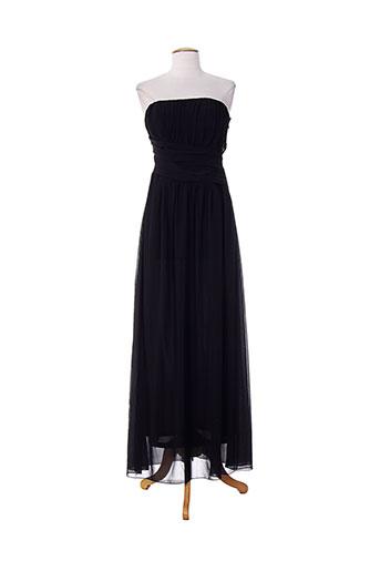 emma dore robes femme de couleur noir