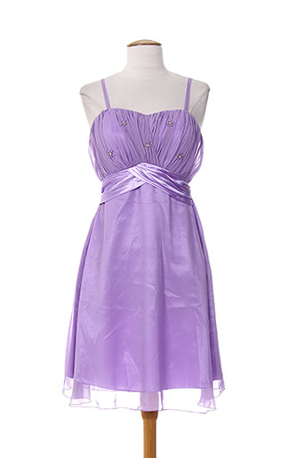 b.b wang robes femme de couleur violet