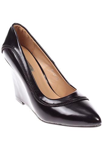 bellucci chaussures femme de couleur noir