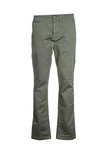 eden et park pantalons et decontractes homme de couleur vert