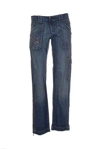lee et cooper jeans et coupe et droite femme de couleur bleu