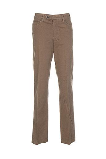 brühl pantalons homme de couleur beige
