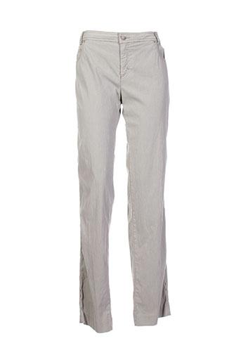 mariella et rosati pantalons et decontractes femme de couleur beige