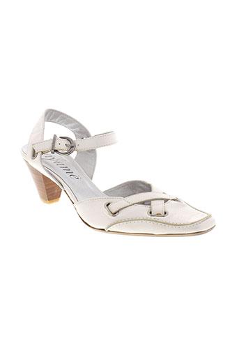 ayame chaussures femme de couleur blanc