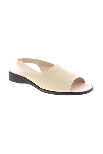 jean et de et cabani sandales et nu et pieds femme de couleur beige