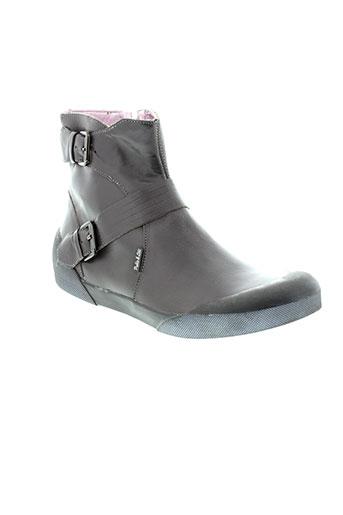 pablo EFFI_CHAR_1 lele chaussures femme de couleur gris
