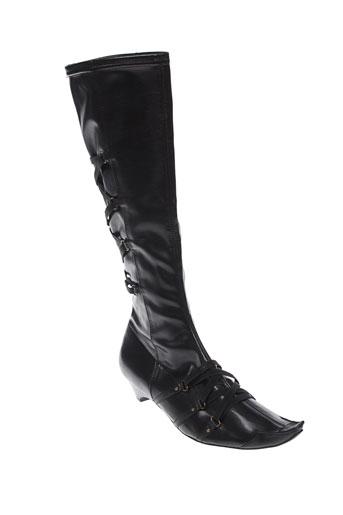 fugitive et by et francesco et rossi bottes femme de couleur noir