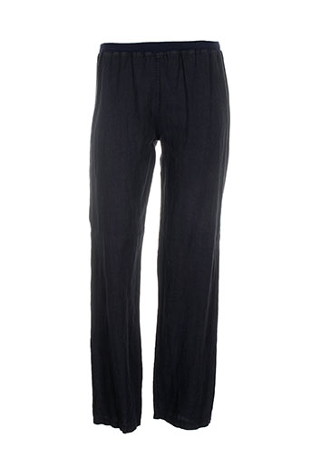 prima et volta pantalons et decontractes femme de couleur bleu
