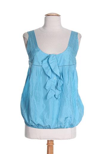 see by chloé chemises femme de couleur bleu