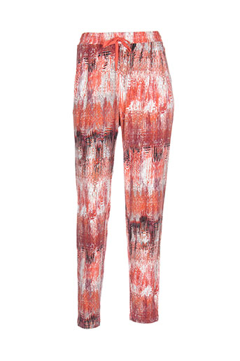 sandwich pantalons et decontractes femme de couleur orange