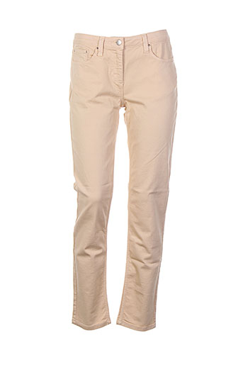 pablo gerard darel pantalons femme de couleur orange