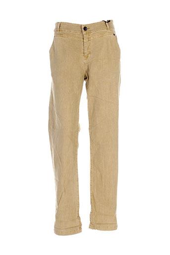 ikks jeans femme de couleur beige