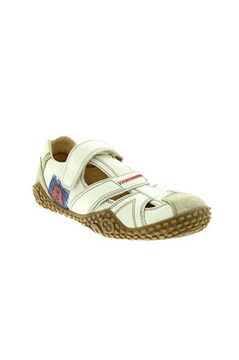 mod 8 chaussures garçon de couleur blanc