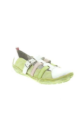 peche d'amour chaussures fille de couleur blanc