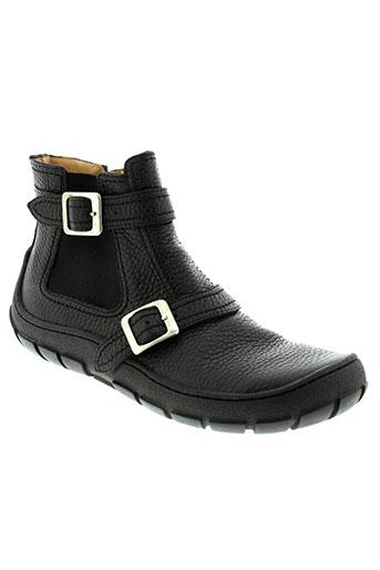 pom et d et api boots garcon de couleur noir