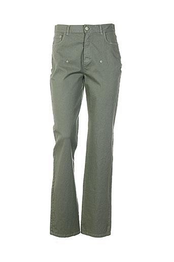 akela key pantalons femme de couleur gris